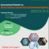 International Summit on Electrical Electronics Computer Science and Communication Engineering (ISEECSCE) 2016, ICIRMET, July 31 2016, Kozhikode, Kerala
