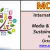 International Conference on Media & Communication in Sustainable Development ( MCSD) 2016, SERD, October 24-25 2016, New Delhi, Delhi