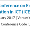 International Conference on Emerging Trends & Innovation in ICT 2017, YASHADA, February 3-5 2017, Pune, Maharashtra