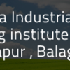 Satpuda Industrial Training Centre, Manjhapur