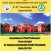 National Symposium on Plant Disease Management for Food Security 2014