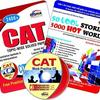 CAT Topic Wise Solved Papers with CD / 50 Cool Stories and 3000 Hot Words (English) by Disha Experts