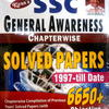 SSC General Awareness Chapterwise Solved Papers (1997 - till date) by Kiran Prakashan