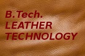 Bachelor of Technology (BTech Leather Techonology)