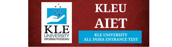 KLE University All India Entrance Test (KLEU AIET)
