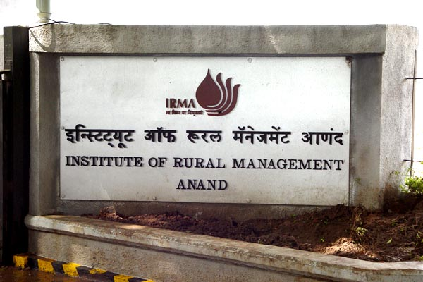 MBA Admission 2015-17 at Institute of Rural Management Anand