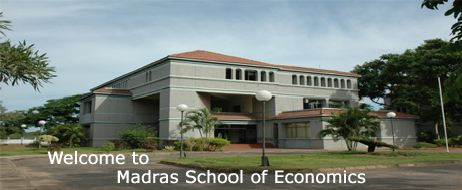 Diploma in Risk Management Admission 2014 at Madras School of Economics