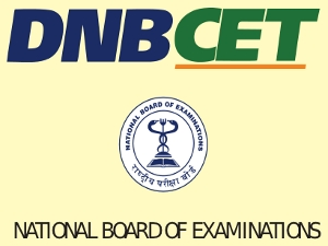 DNB CET 2015, Notification and Exam Dates