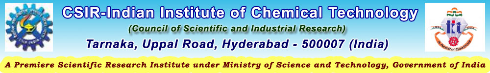 PhD Admissions 2015, CSIR Indian Institute of Chemical Technology, Hyderbad