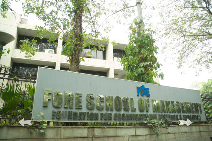 PGDM Admission 2014-15, FORE School of Management (FSM), New Delhi