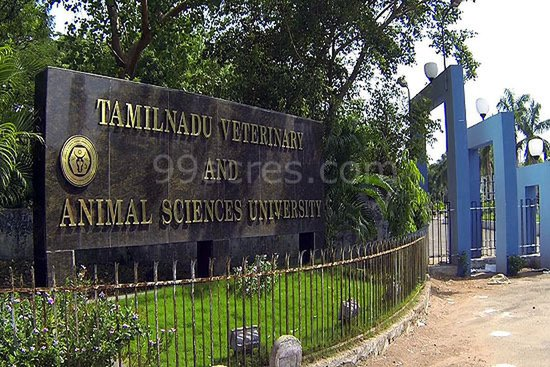 B.Tech Dairy Technology Admission 2014-15, Tamil Nadu Veterinary and Animal Sciences University