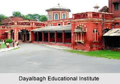 Dayalbagh Educational Institute RET for MPhil Admission 2015