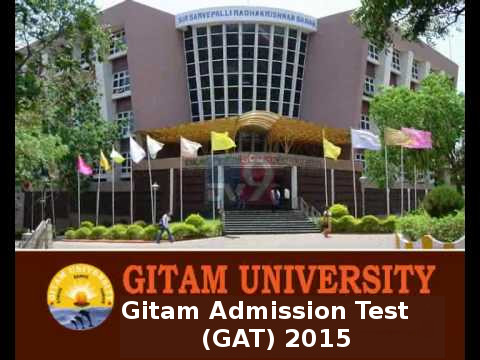 Gitam Admission Test (GAT) 2015 Notification and Exam Dates