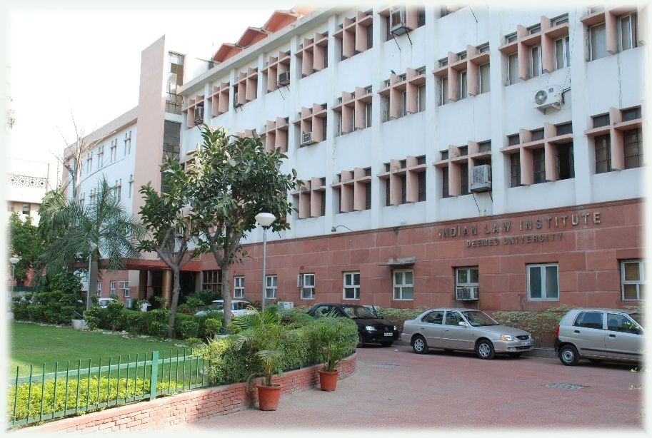 Online Courses Admissions 2015, Indian Law Institute, New Delhi