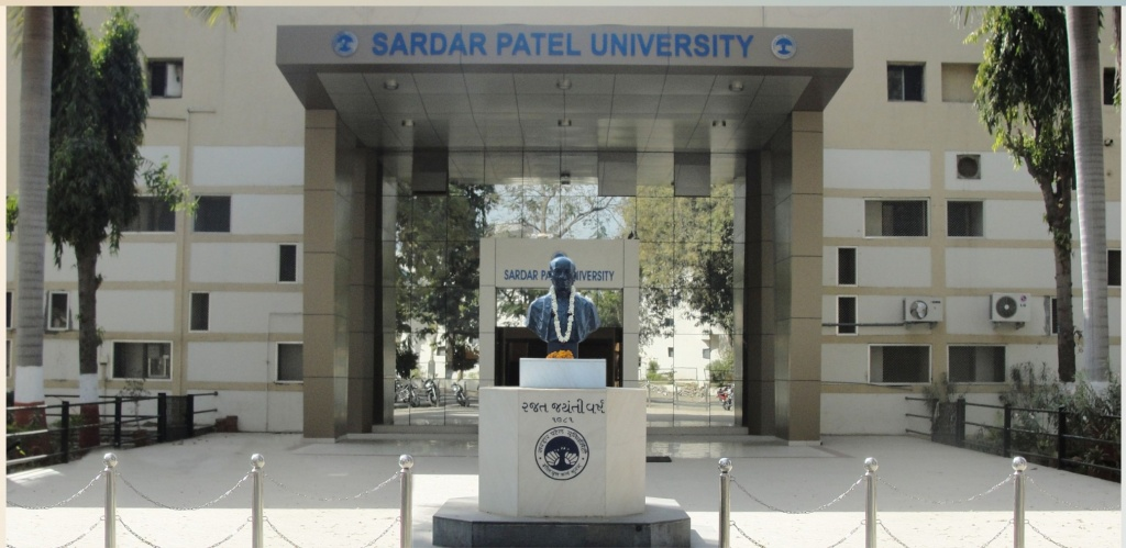 Phd Admission 2015, Sardar Patel University, Vallabh Vidyanagar