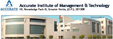 PGDM Admission 2015-17 @ Accurate Institute of Management & Technology, Greater Noida