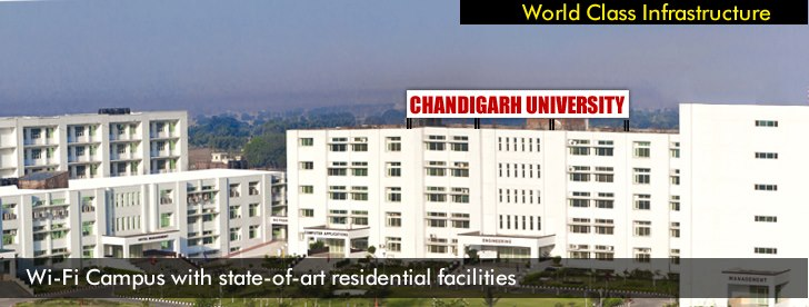 MCA Lateral Entry Admission 2015, Chandigarh University, Gharuan