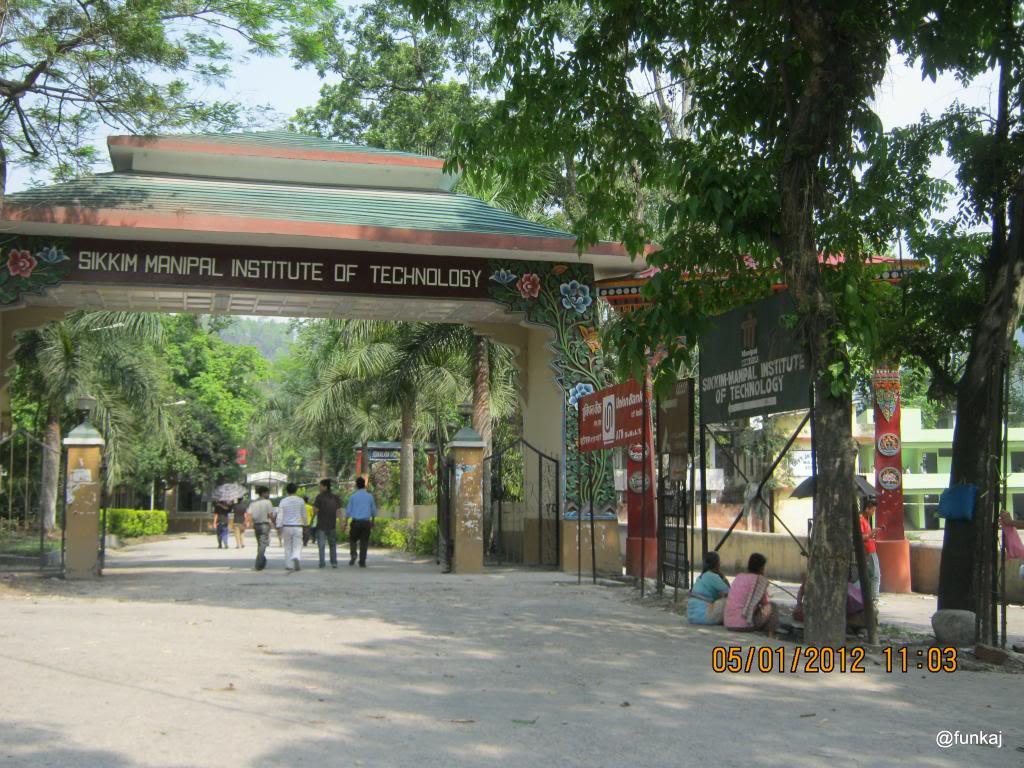 BTech Lateral Entry Admission 2015 at Sikkim Manipal Institute of Technology