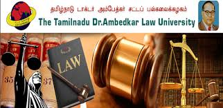 PhD Admissions 2015-2016 at Tamil Nadu Dr Ambedkar Law University, Chennai