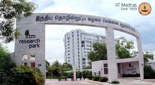 MTech Programme 2015 @ Indian Institute of Technology Madras, Chennai