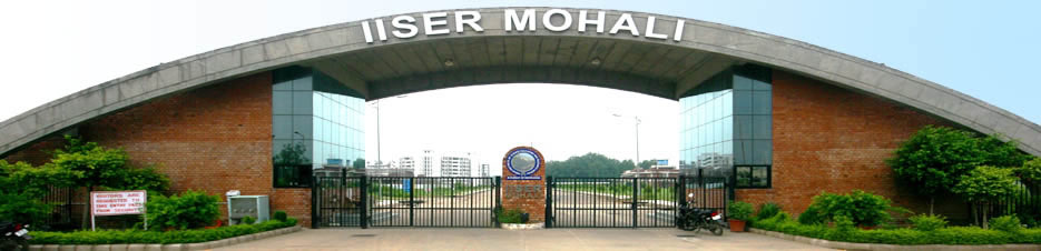 Admission to the Integrated MS-PhD Program August 2015 at IISER Mohali