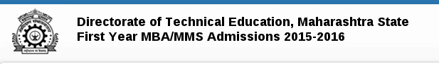 Maharashtra MBA MMS Common Entrance Test (MAH MBA MMS CET) 2015 Notification and Exam Dates