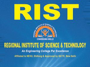 ERDF CET 2015 at Regional Institute of Science & Technology (RIST), Ri Bhoi