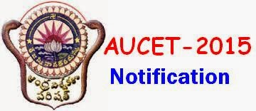 Andhra University Common Entrance Test (AUCET) 2015 Notification and Exam Dates