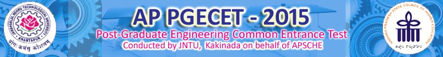 APPGECET 2015 Notification and Exam Dates