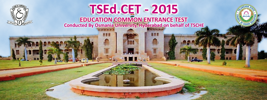TSEd.CET 2015 Notification and Exam Date