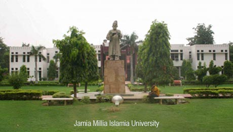 Jamia Millia Islamia, Delhi offers MPhil Hindi Admissions 2015