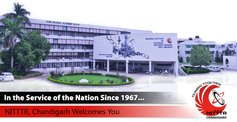 NITTTR Chandigarh notifies ME and PhD Programmes Admission 2015-2016