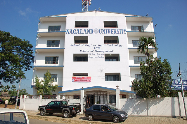 Nagaland University invites applications for B Tech Admission 2015