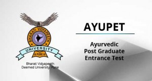 BVP AYUPET 2015 (Bharati Vidyapeeth Ayurved Post Graduate Entrance Test) Notification and Exam Date