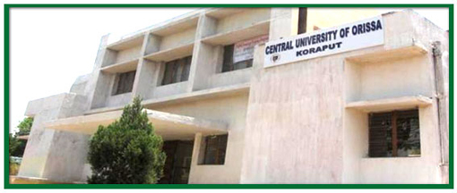 Central University of Orissa offers MA, MPhil and PhD in Sociology Admission 2015-16