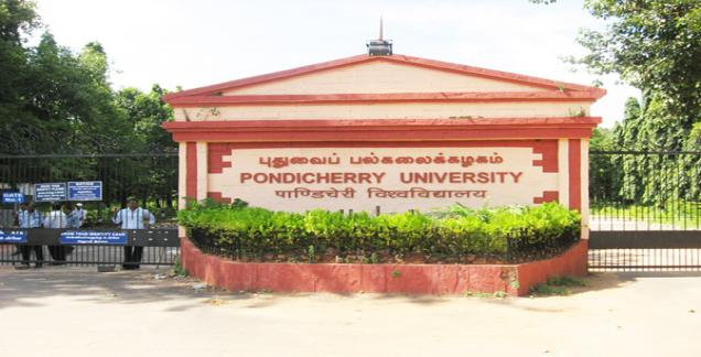 Pondicherry University announces PG and Phd Admissions 2015