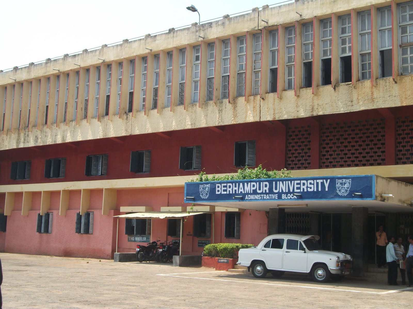 Berhampur University invites applications for Professional Courses Admission 2015