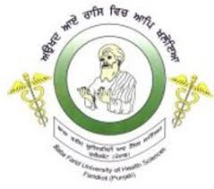 Baba Farid University of Health Sciences (BFUHS) announces DM and MCh Admission 2015
