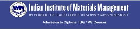 Indian Institute of Materials Management (IIMM) announces PGDMM Admission 2015
