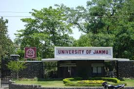 University of Jammu announces BEd Admission 2015