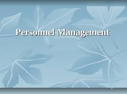 Diploma Personnel Management (DPM)