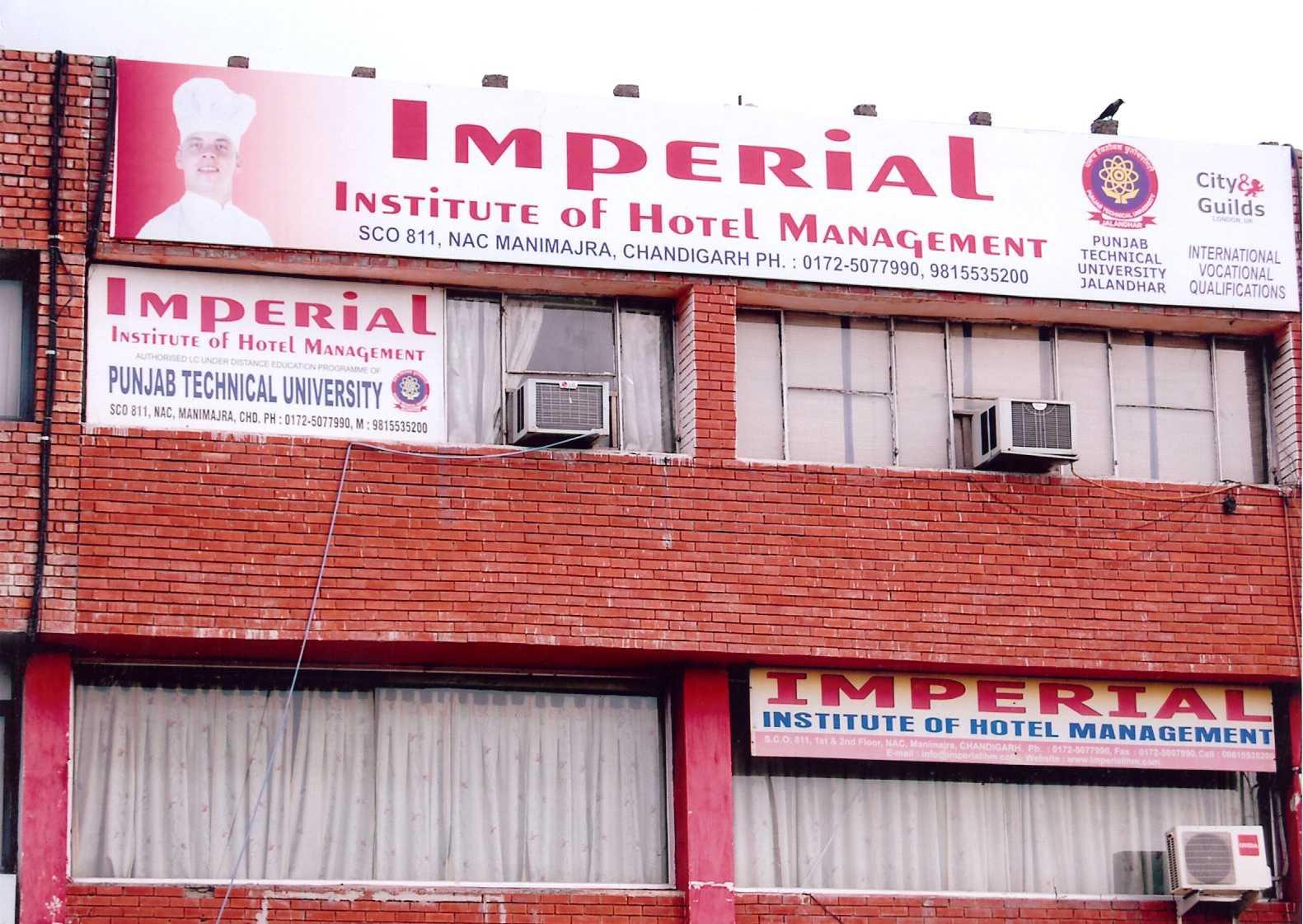 Imperial Institute of Hotel Management, Chandigarh