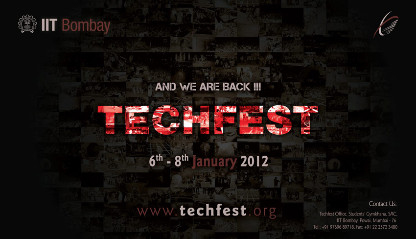 IIT Bombay organizing Techfest from 6th - 8th January 2012