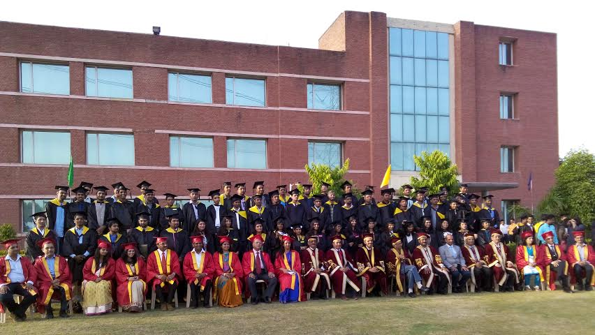 Girls Excel at the Convocation of JK Business School
