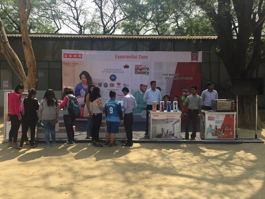 USHA International sponsors Dr. Bharat Ram Open Sports Fest 2017 at the  Lady Shriram College