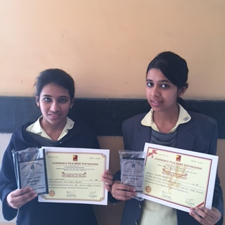 IIS students Outshine at International Commerce Olympiad 2014