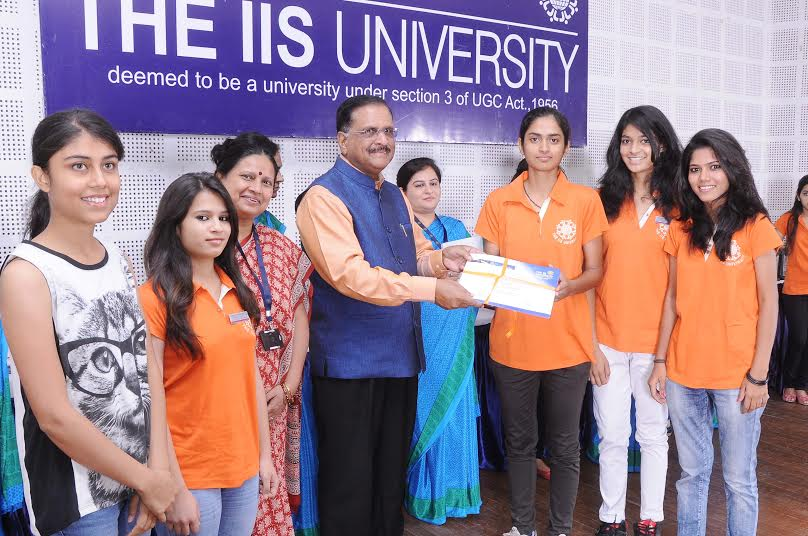 The IIS University organized Award Ceremony 2015